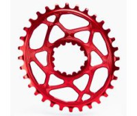 Absolute Black OVAL Sram Direct Mount GXP chainring N/W
